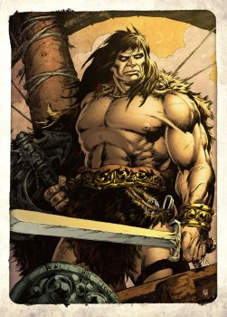 Conan... the Pirate by spidermanfan2099