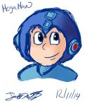 Teh Blue Bomber V2 by DictatorChocolate