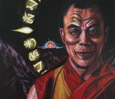 Work in Progress - Dalai Lama Update by Kiminjo