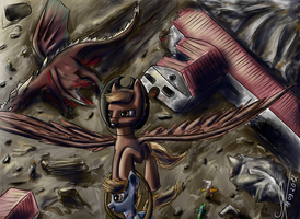 Fallout: Equestria. Chapter 12: Must Go On by 1Vladislav