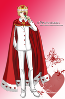 Saturo The King of Hearts by vicfania8855