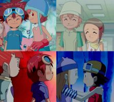 Top 4 of Digimon Couples by 3D4D