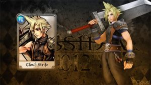 Dissidia 012 Cloud 4 by NaughtyBoy83
