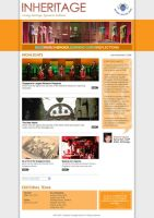Web Design - Inheritage by mujiri