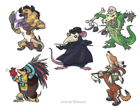 Animal Witch Doctors by Otterfang