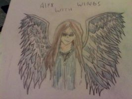 request- Alyx With Wings by shadowtheblackdragon
