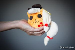AppleJack Special - My Little PonyBall Plush by Masha05
