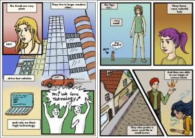 About Terna comic test 2 by Biali