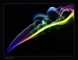 Smoke in colors by icewomanfirst