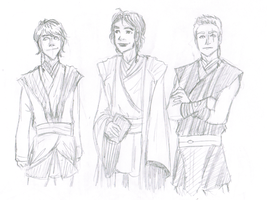 Young Padawans by Ispeakmuzik