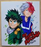 Shikishi My Hero Academia by Djiguito