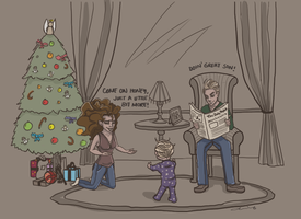 A very Dramione Christmas by deimlacquer