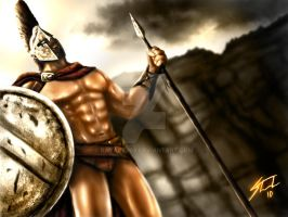 King Leonidas by ravage808