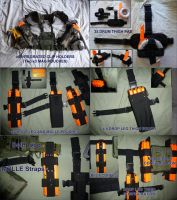 Prototype MOLLE Compatible NERF Clip Holder by MarcWF