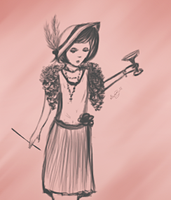 Thirty Days Of Art - Day 10: 1920s Fashion by Stepherbell