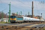 431 340 with 'GATX' freight train in Gyor - 2012 by morpheus880223