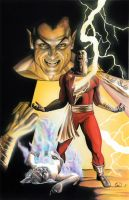 shazam captain marvel by paint4you
