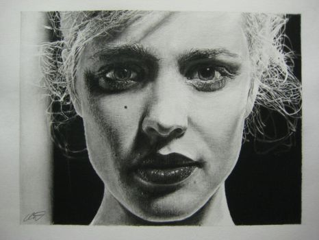 Rachel McAdams pencil drawing by derektwilt