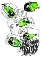 mountain dew little whales by real-tv