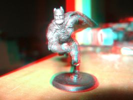 The Dark Knight in 3D Take 1 by LittleBigDave