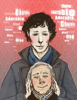 Johnlock by Batwynn
