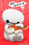 Baymax and Mochi by ArtistAbe