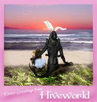 Easter Greetings from Hiveworld by Rachelevans1013