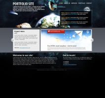 Free css template 2 by ChocoTemplates