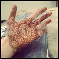 Henna Tattoo After effect by MonteyRoo