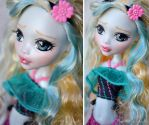 Commission - MH Lagoona Blue repaint by prettyinplastic