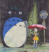 totoro by AnjoFDS