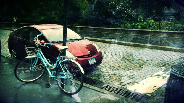 Rain Bike by KaciHPfanatic