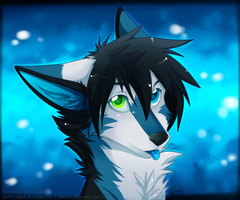 Blue Snow by Rend-Lostluck