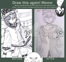 Meme: Before And After by yumeid