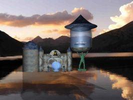 My Aquatic Temple pic2 by RayValentine