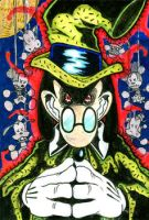 Sketch Card 1: Sylvester Shyster by jongraywb