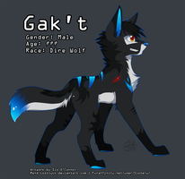 Gak't the Dire Wolf by Sioteru