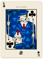 JJ: King of Clubs by kuramay