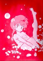 Ranma in pink by prettyblur