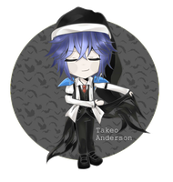 [ Chibi Commission ] Takeo Anderson by Nanamichiii
