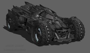 Batmobile MK1 by Darkslayer092
