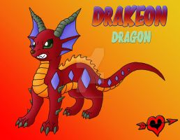 Drakeon - Dragon Type Eeveelution by JamalPokemon