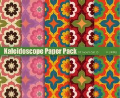 Kaleidoscope Paper Pack -  Set 2 by naga-pree