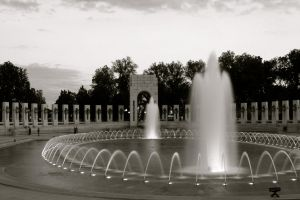 WWII Memorial by Justateen10