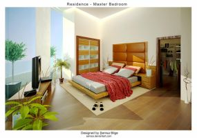 R2-Master Bedroom 2 by Semsa