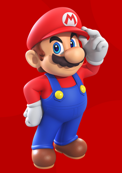Super Mario by Elesis-Knight