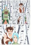 forest comic p1 by Mizumi28