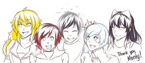 Thank You, Monty Oum by Shizumii-Kaii