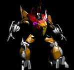 Sunstorm - War for Cybertron by Vert-Exis