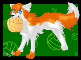 Volleyball Anyone? by ScarlettFire